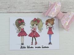 Карточка с девочками № 2