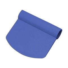 Шпатель кондитерский пластиковый Round Exoglass Matfer (100х110мм)