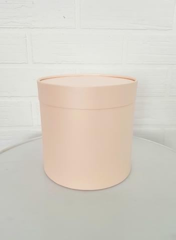 Коробка для цветов (цвет персик)