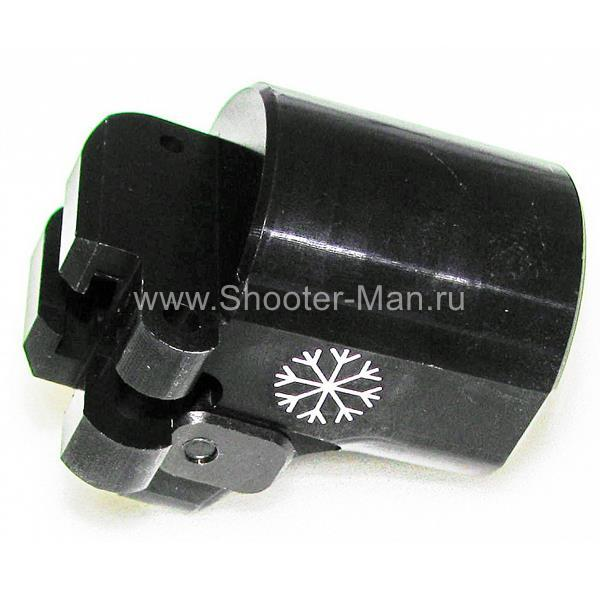 Переходник Шарнир В12-1 для Вепрь12 со смещением 5 мм Рысь