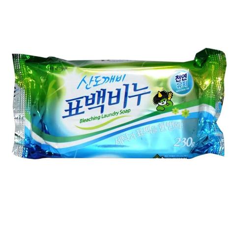 Хозяйственное мыло для стирки Отбеливающее 230 гр