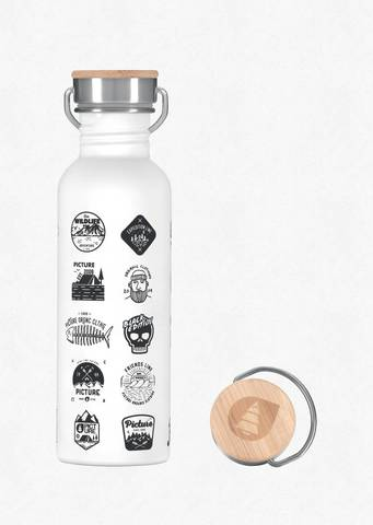 Бутылка для воды Picture Organic HAMPTON BOTTLE C White