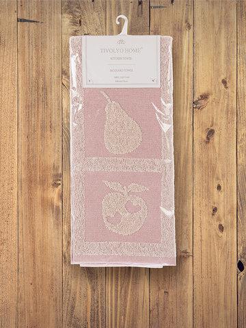 Кухонное полотенце  FRUITY розовый  50х70 TIVOLYO HOME Турция
