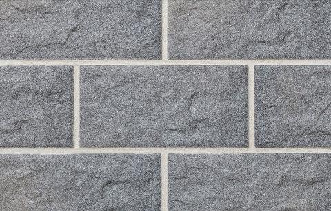 Stroeher - KS06 grau, Kerabig, glasiert, глазурованная, 302x148x12 - Клинкерная плитка для фасада и цоколя