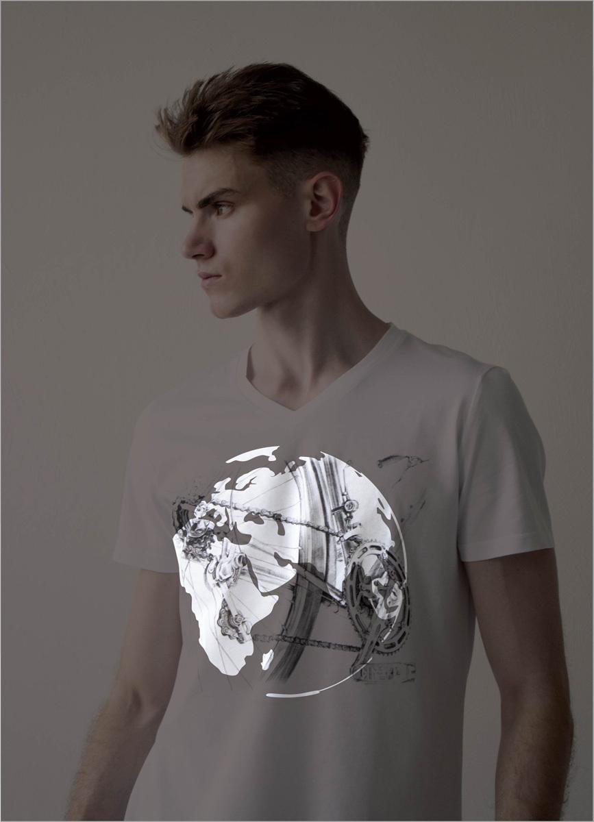 Мужская футболка «Велосипед»