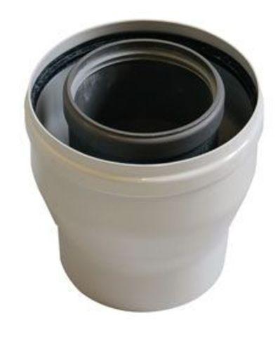 Переходник коаксиальный BAXI с 80/125 мм на 60/100 мм, HT