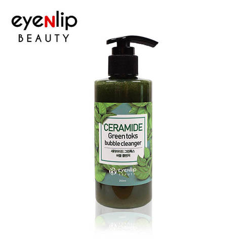 CERAMIDE GREEN TOKS BUBBLE CLEANSER