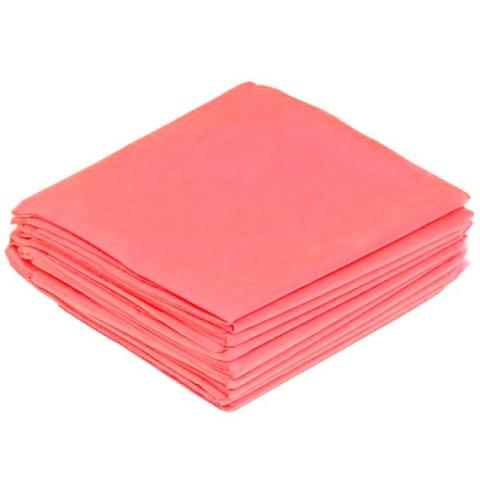 Салфетки одноразовые  40*50 спанбонд, розовые, 20 г/м2, 100 шт