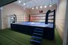 Ринг боксерский на помосте, разборный, помост 5х5м, высота 0.5м, боевая зона 4х4м.