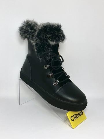 Clibee (зима) K904 Black 32-27
