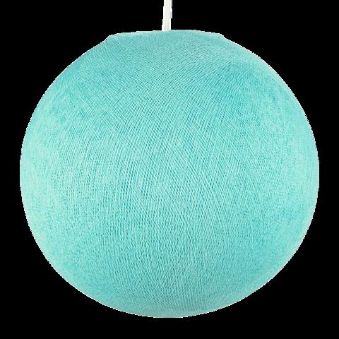 Хлопковый шар - подвес Аква