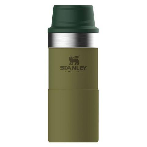 Термокружка Stanley The Trigger-Action Travel Mug (10-06440-018) 0.35л оливковый