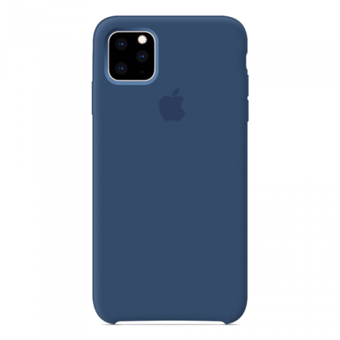 Чехол iPhone 11 Pro Max Silicone Case /blue cobalt/ кобальт 1:1
