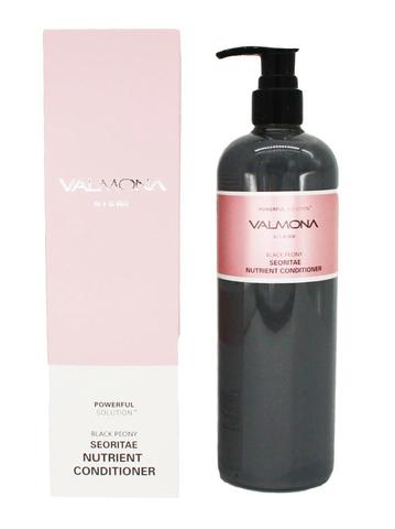 [VALMONA] Кондиционер ЧЕРНЫЙ ПИОН/БОБЫ Black Peony Seoritae Nutrient Conditioner,480 мл