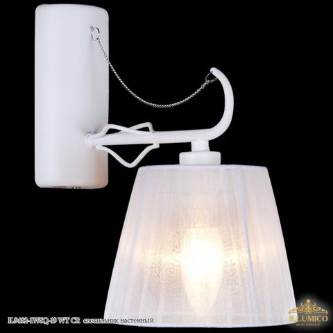 IL9482-1WSQ-19 WT CR светильник настенный