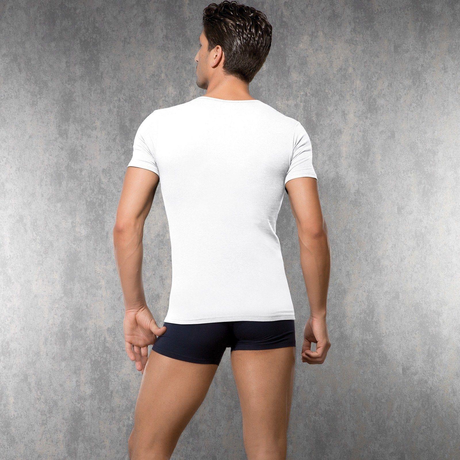 Мужская футболка белая Doreanse 2820