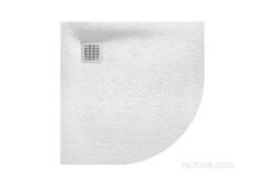 TERRAN Душевой поддон 900X900 1/4 круга с сифоном и решеткой белый  Roca AP10538438401100 фото