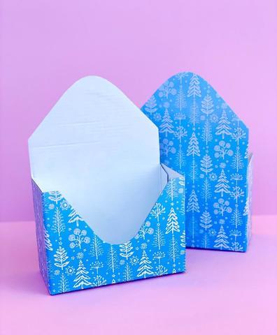 Декоративный конверт-кашпо