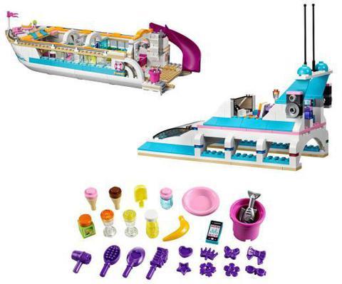 LEGO Friends: Круизный лайнер 41015 — Dolphin Cruiser Set — Лего Подружки