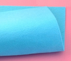 Фетр жесткий толщина 1 мм тихоокеанский синий