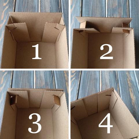 Коробка мгк КУБИК С КРЫШКОЙ (100*100*100мм) сборка дна