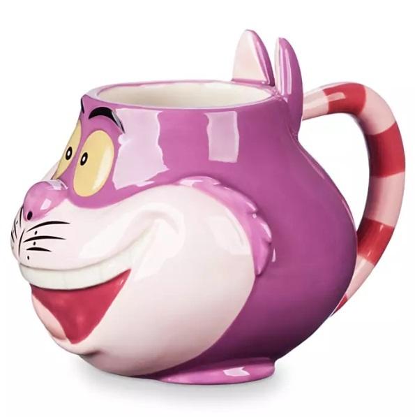Кружка с ложкой Чеширский Кот Disney