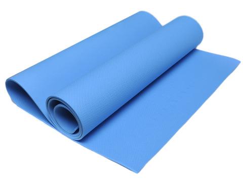 Коврик гимнастический. Цвет: синий. КВ6104-С