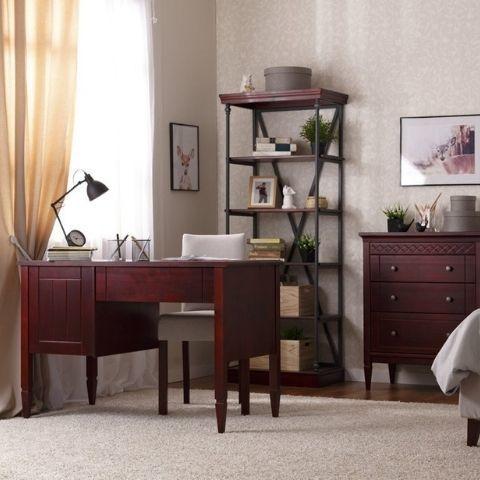 Современный письменный стол из массива Дания