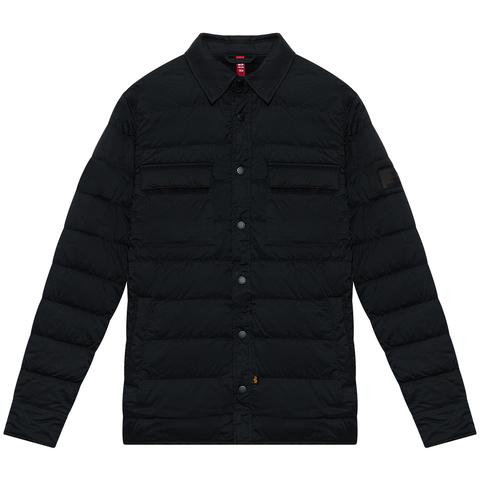 Куртка-рубашка Alpha Industries Quilted Shirt Utility Black (Черная)