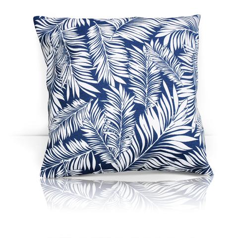 Подушка декоративная Пальма серый уличная коллекция
