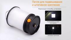 Кемпинговый фонарь Fenix CL30R (черный, серый)