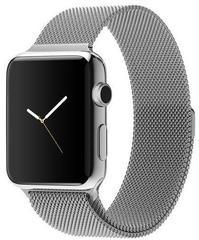 Ремешок из нержавеющей стали COTEetCI W6 MAGNET Band (WH5202-TS) для Apple Watch 40мм/ 38мм Серебристый