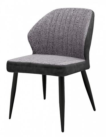 Стул-кресло для гостиной RIVERTON антрацитовый меланж FC-09/ RU-08 М-City