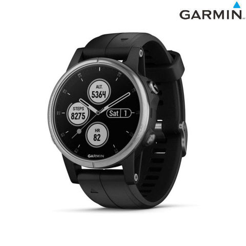 Часы спортивные Garmin Fenix 5S Plus Silver USA