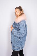 теплая джинсовая куртка с мехом магазин