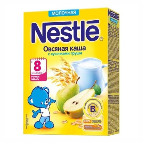 Каша NESTLE Овсяная Груша 220 г РОССИЯ