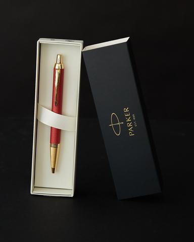 Ручка шариковая Parker IM Premium K318  Red GT M