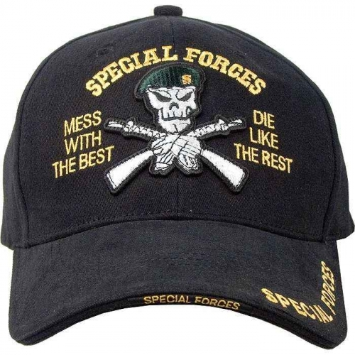 Кепка Special Forces Rothco (черный)