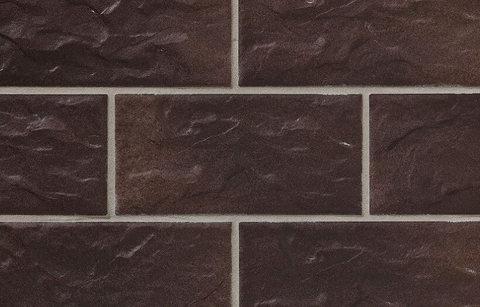 Stroeher - KS15 schokobraun, Kerabig, glasiert, глазурованная, 302x148x12 - Клинкерная плитка для фасада и цоколя