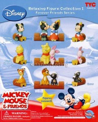Disney Mickey & Friends Relaxing Figure