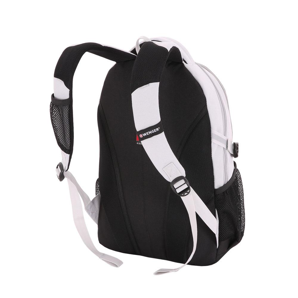 Рюкзак WENGER со светоотражающими элементами, цвет серый, 22 л., 45х33х15 см., 2 отделения (3001402408-2)