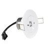 Круглый встраиваемый светодиодный аварийный светильник Starlet White LED SC с разъемом для подключения к блоку питания