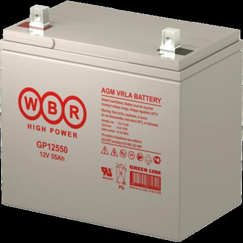 Аккумулятор WBR GP 12550