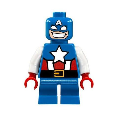 LEGO Super Heroes: Капитан Америка против Красного Черепа 76065 — Mighty Micros: Captain America vs. Red Skull — Лего Супергерои Marvel Марвел DC Comics комиксы
