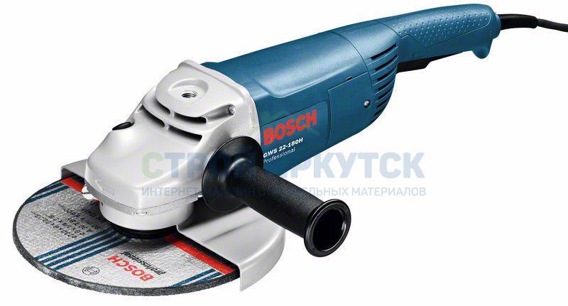 Шлифовальные машины Угловая шлифмашина Bosch GWS 22-180 H (0601881103) 8ee8a5c1b7e65eef1ce88f2845734760