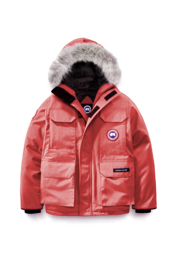 EXPEDITION PARKA KIDS RED 3858