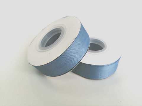 Лента репсовая 2,5см (Дымчато-синий №237)