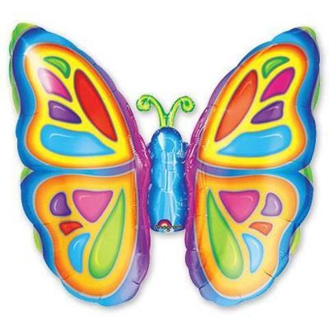 Шар фигура Бабочка яркая