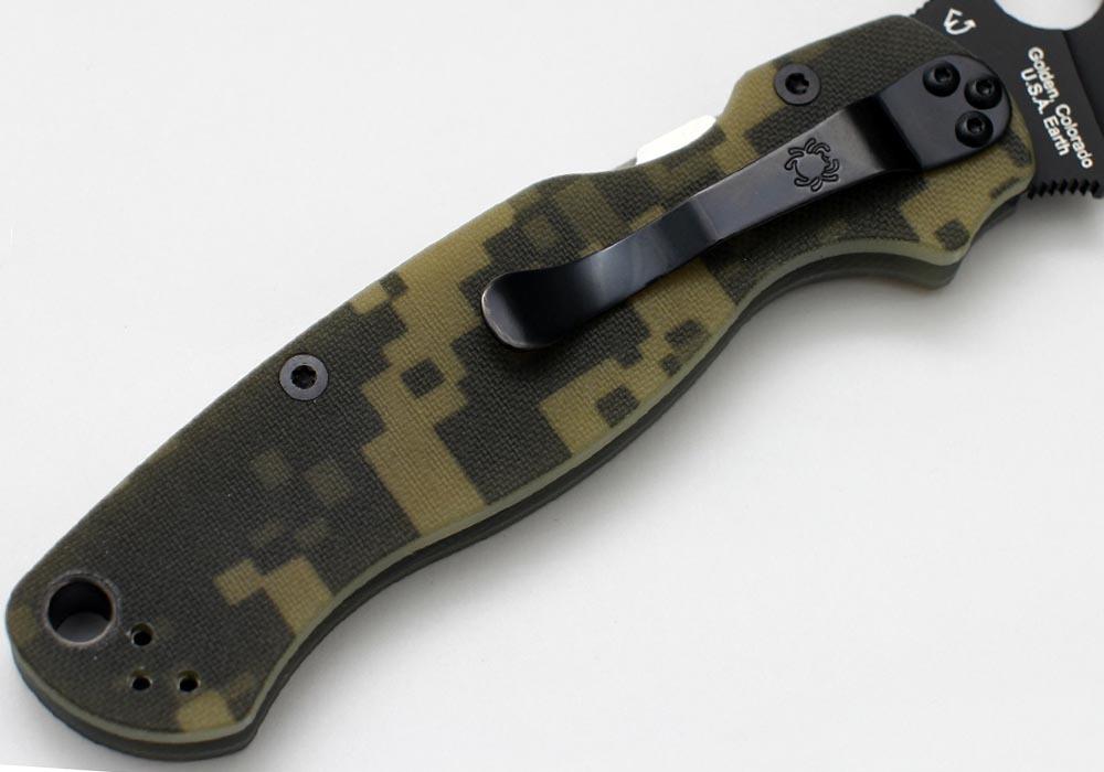 Нож Spyderco Paramilitary 2 C81GPCMOBK2 camo - фотография
