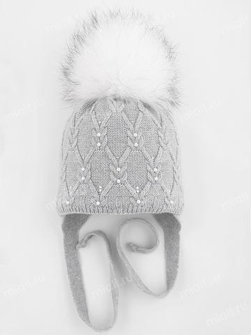 Зимняя шапка для девочки Mialt Анжелика